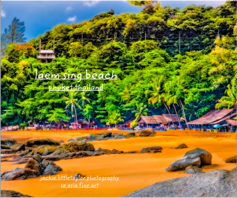 laem sing beach book cover