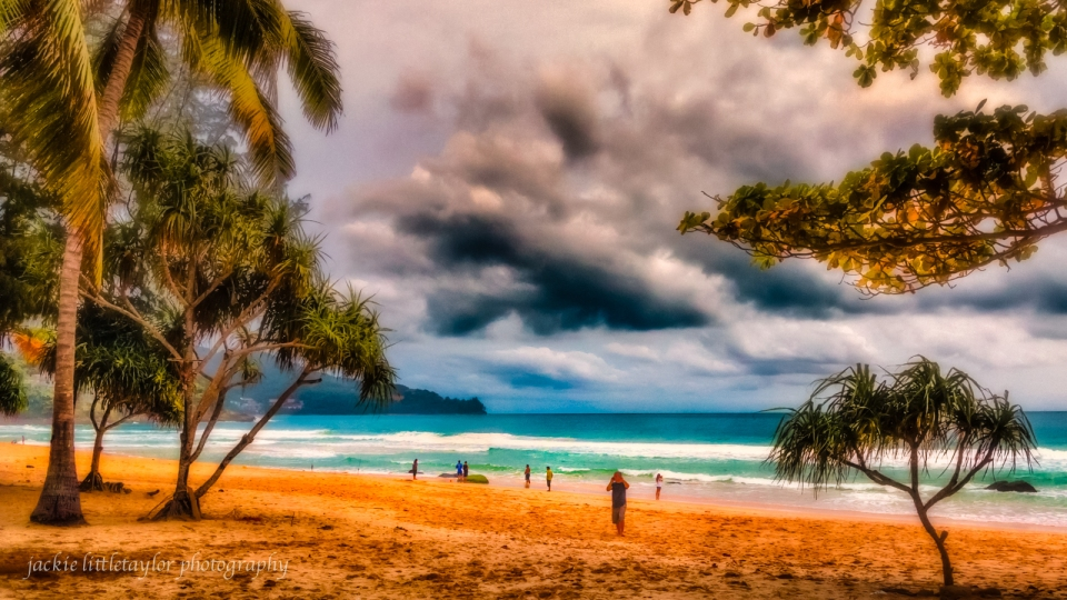 view of Surin Beach from Bimi Beach Club