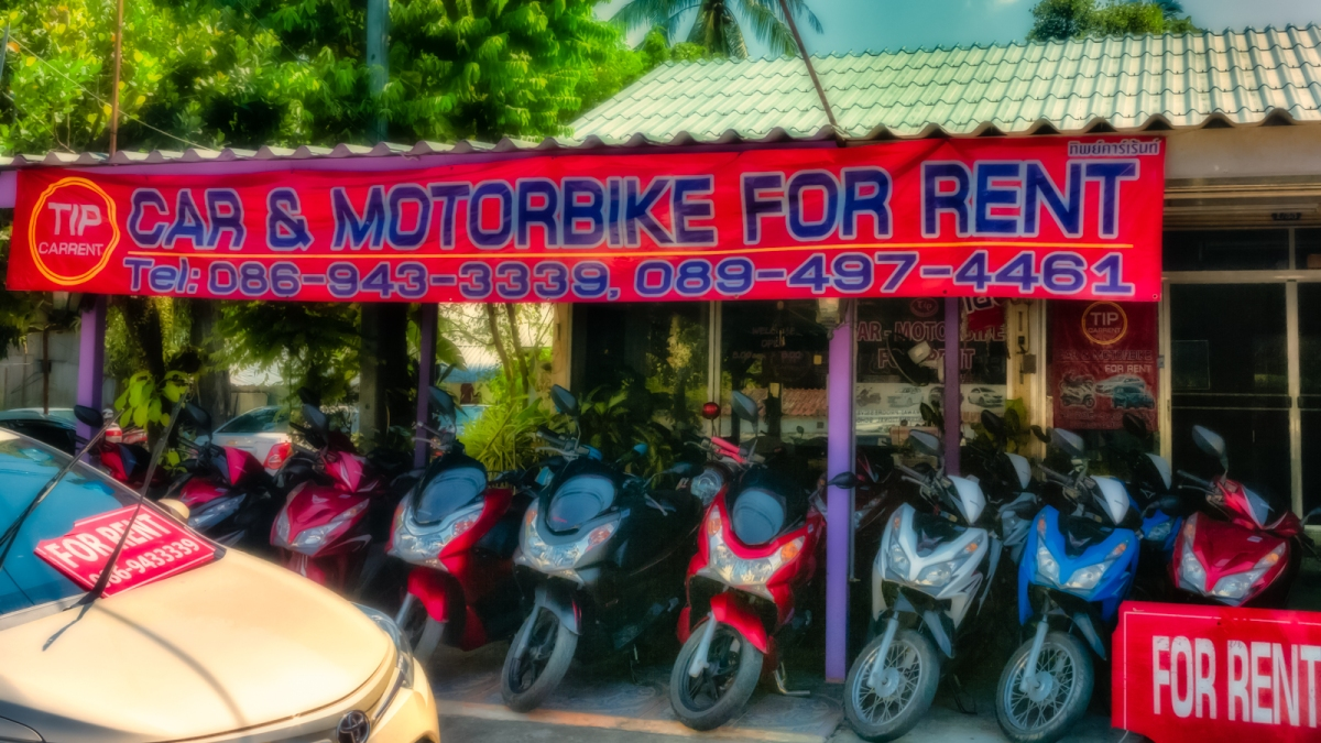 Tip Top Car and Motorbike Rentals Rawai Thailand Review by jackie