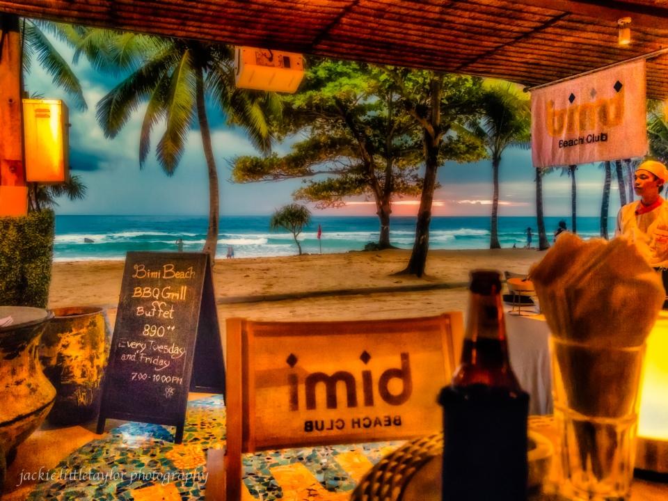 Bimi Beach Club on Surin Beach