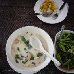 Thai Chicken Soup in Coconut Milk (Tom Kha Gai)
