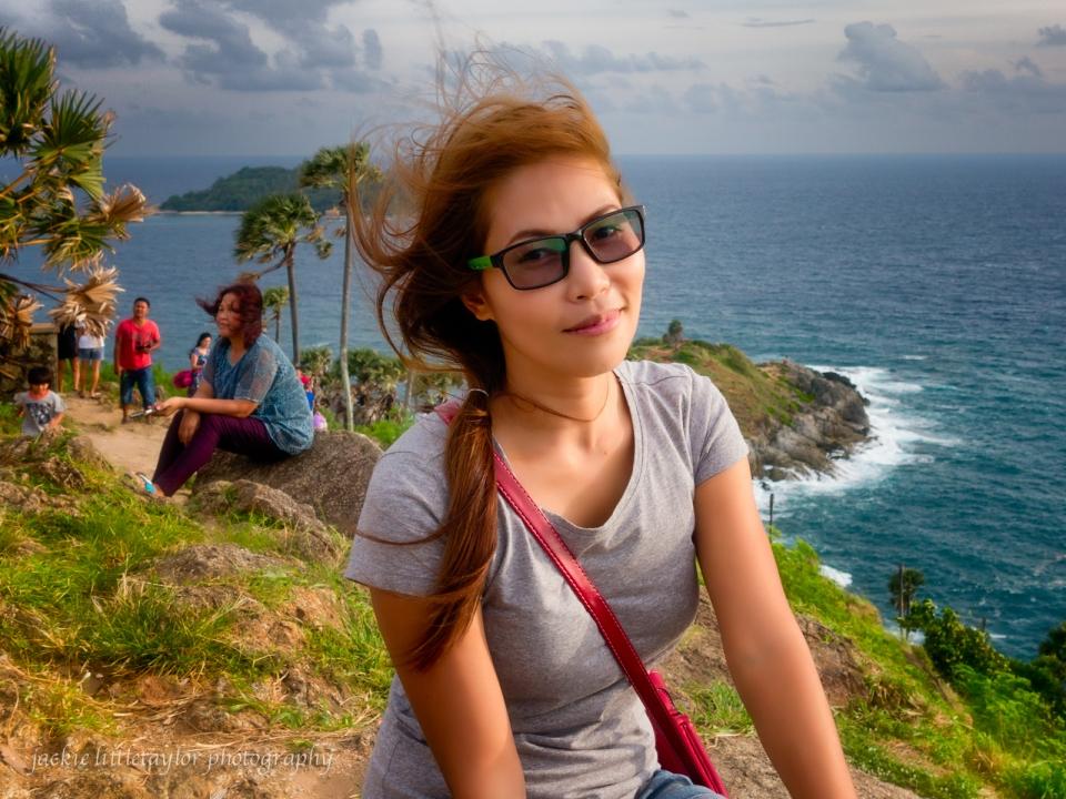 Thai woman Promthep Cape
