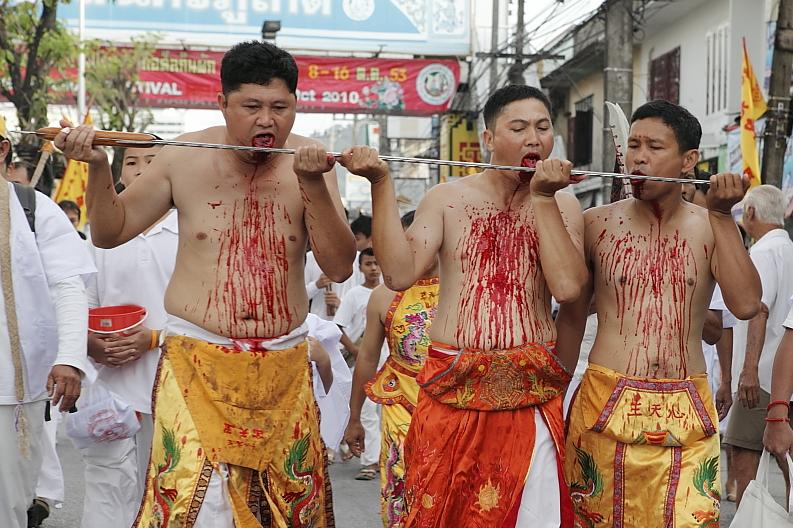 phuket veg festival