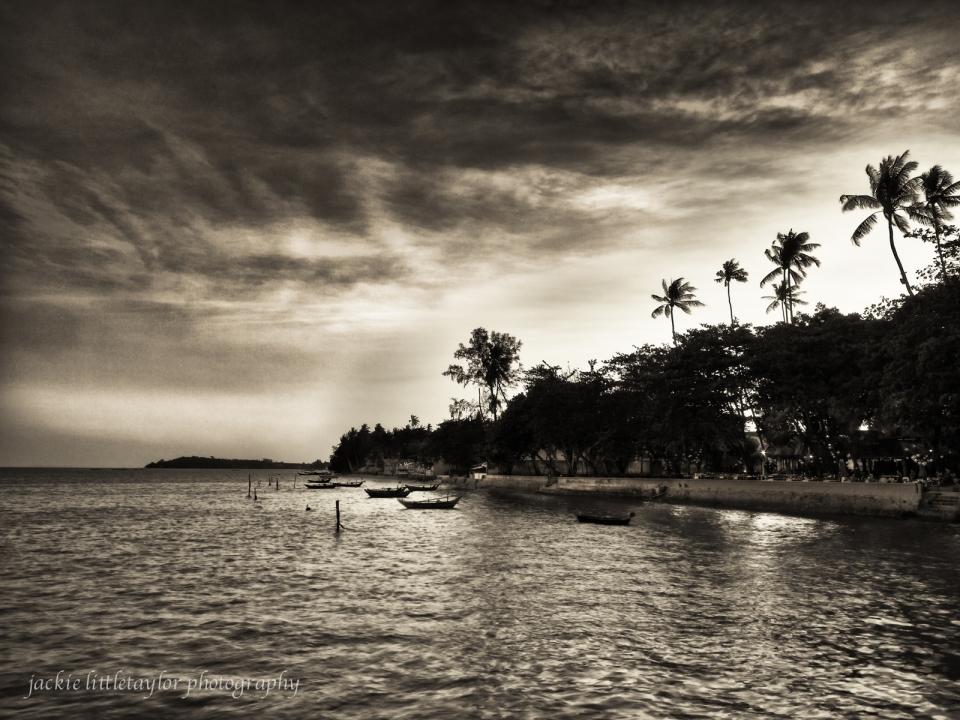sunset coast Chalong Bay