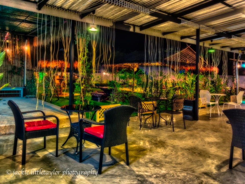 The Nine Patio dining and bar outside