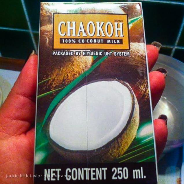 Thai Coconut Milk Soup with Chicken