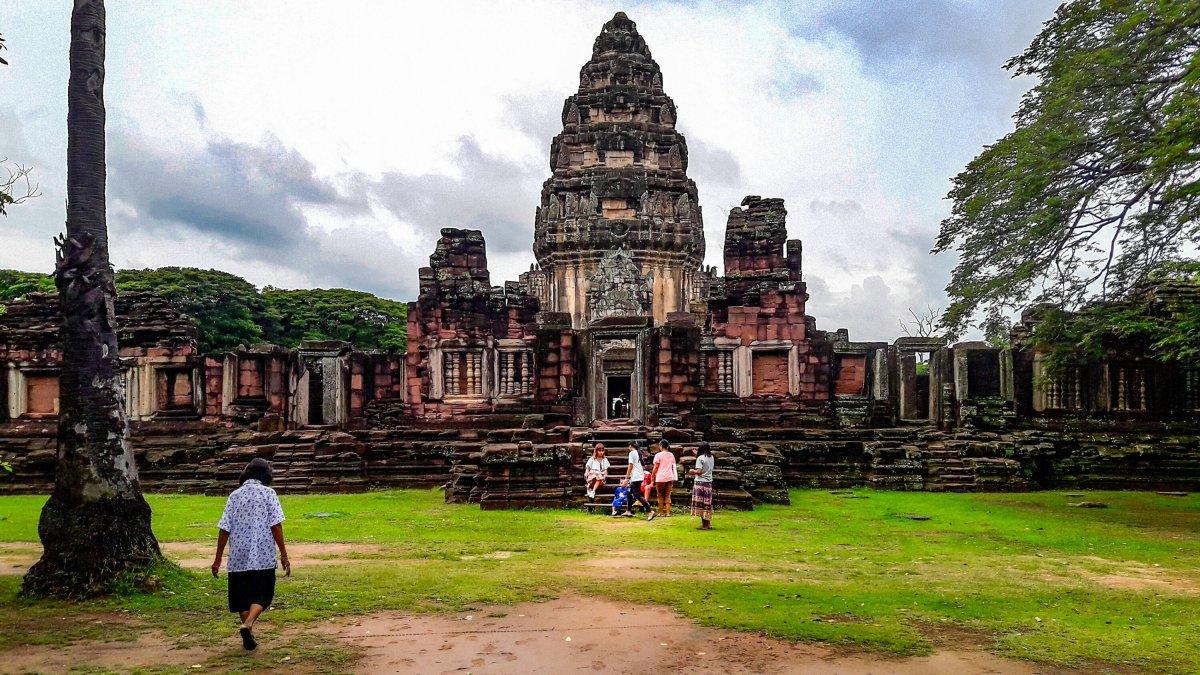 Phimai Historical Park Thailand by jackie